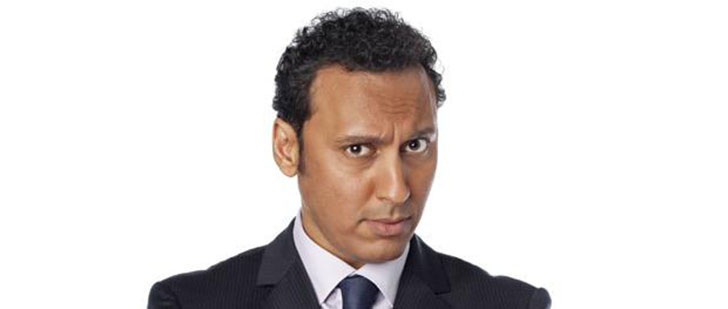 Aasif Mandvi Bio, Married, Wife, Age, Height, Net Worth, Career, Family