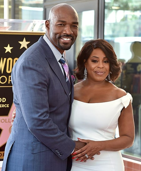 Niecy Nash and her ex-husband Jay Tucker