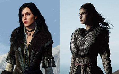 "Anya Chalotra as Yennefer in ""The Witcher"""