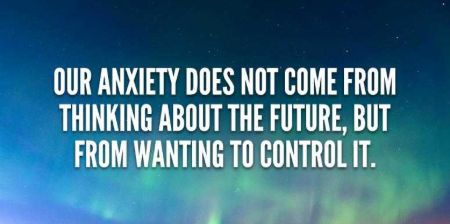 Anxiety and Depression can be reduced engaging self and setting goals