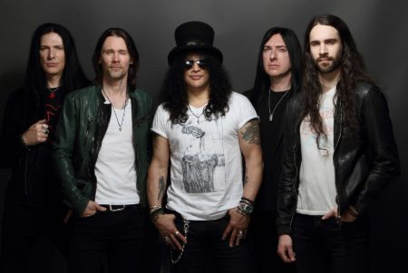 Myles Kennedy with Slash and the Conspirators