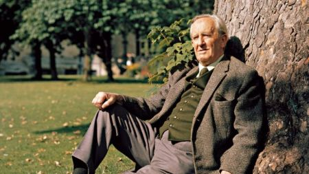 A picture of J. R. R. Tolkien