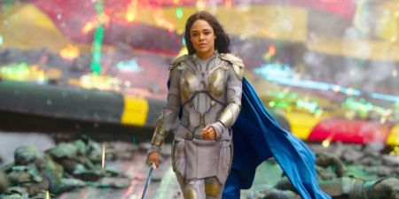 Tessa Thompson reprised her role as Valkyrie in Avengers: Endgame