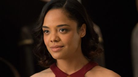 Tessa Thompson as Charlotte Hale in Westworld