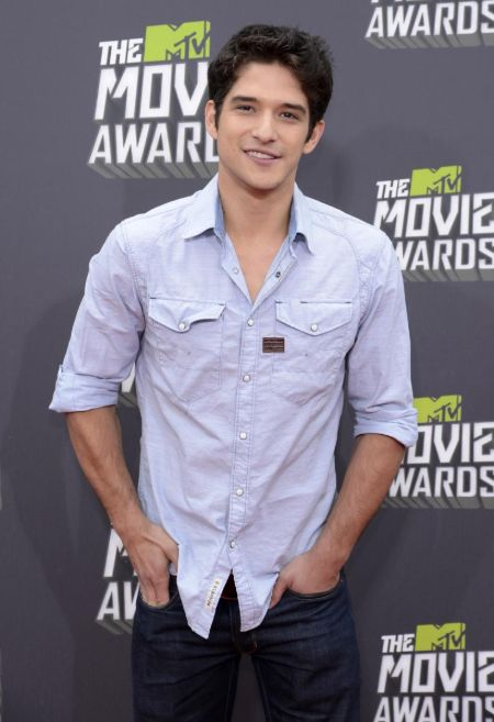 Tyler Posey in MTV movie Awards.