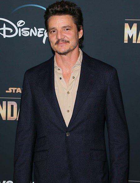 Chilean-American actor Pedro Pascal