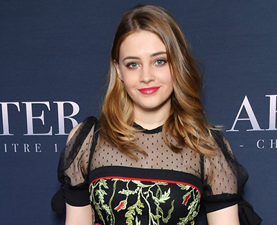 Josephine Langford at the screening of 'After'