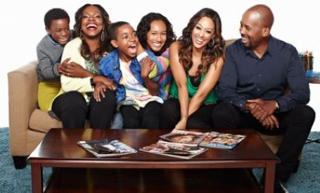 Michael Boatman with his family along with Tia Mowry