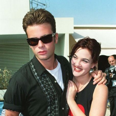 Drew Barrymore and Jamie Walters