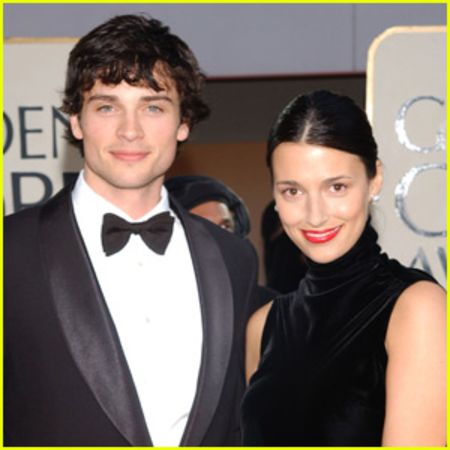 Tom Welling and his former wife Jamie White
