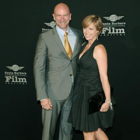 Graham McTavish with his wife