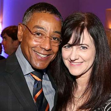 Giancarlo Esposito with his ex wife