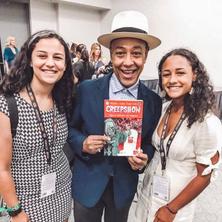Giancarlo Esposito with his two daughter