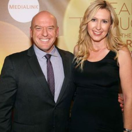 Dean Norris and his wife