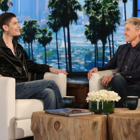 Asia Kate Dillon in Ellen Show