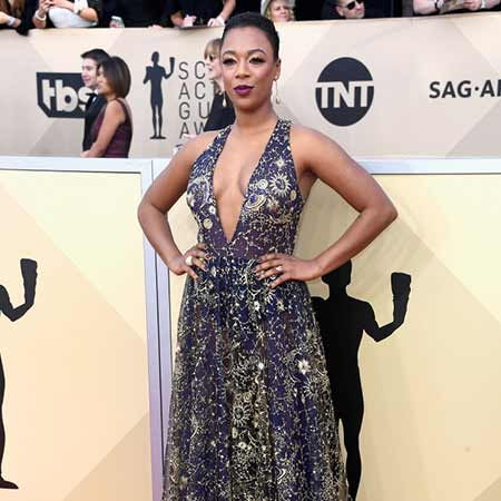 Samira Wiley at the SAG Awards.