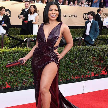 Jessica Pimental at the SAG Awards.