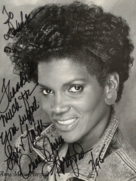 Anna Maria Horsford in her early days