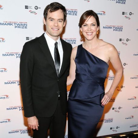 Bill Hader and his ex-wife Maggie Carey