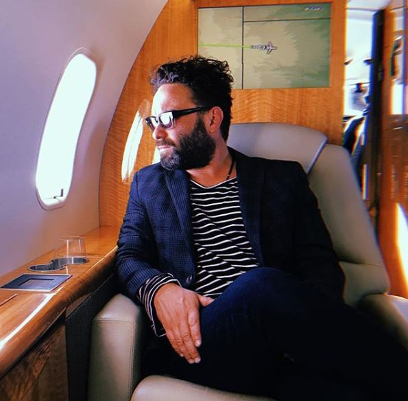 Actor Johnny Galecki.