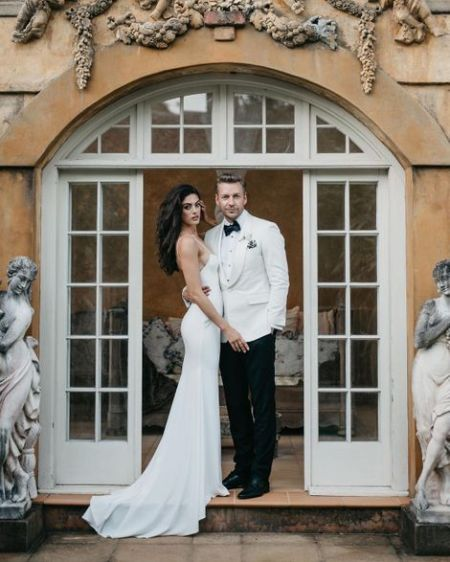 Charlie Austin with her husband Scott Robertson.