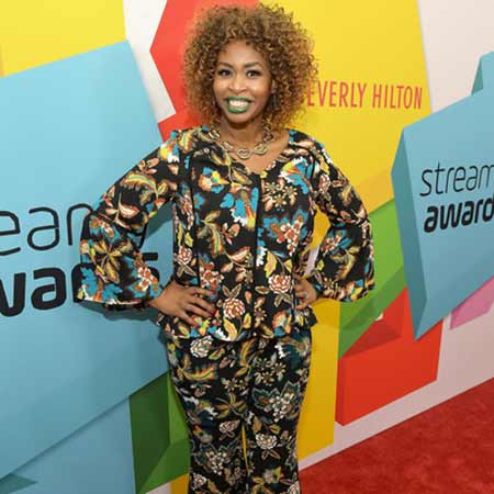 GloZell at the Streamy Award.