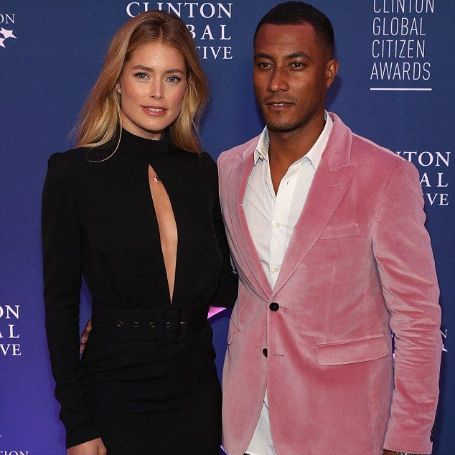 Doutzen Kroes with her husband Sunney James Gorre