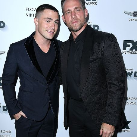 Colton Haynes with Jeff Leatham