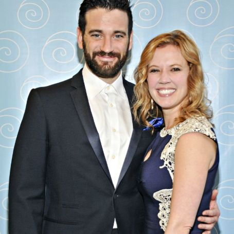 Colin Donnell with his wife Patti Murin