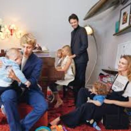 Natalia Vodian with her family