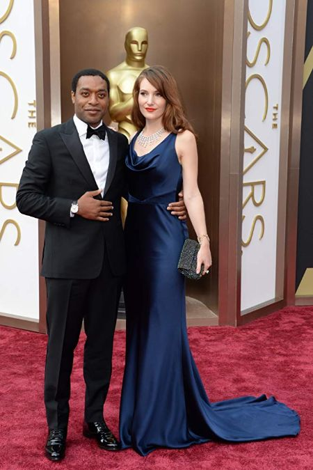 Chiwetel Ejiofor with Sari Mercer