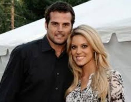 Carrie with her husband, Kyle Boller
