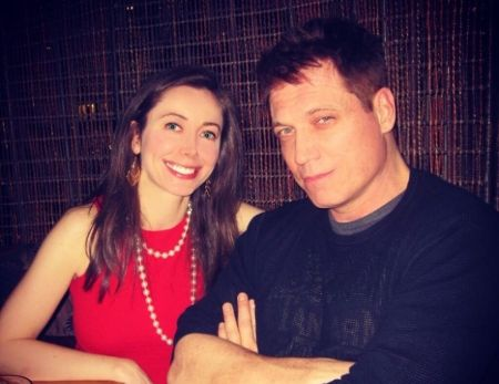 Holt McCallany with Nicole Wilson