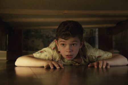 Noah Jupe in A Quiet Place