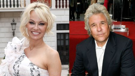 Pamela Anderson with fifth and current husband, Jon Peters