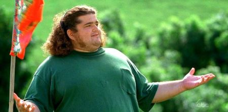Jorge Garcia during his Lost days