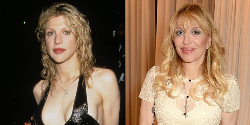Wife Of Late Kurt Cobain, Courtney Love Had Nose Job And Face Lift-All The Details Here