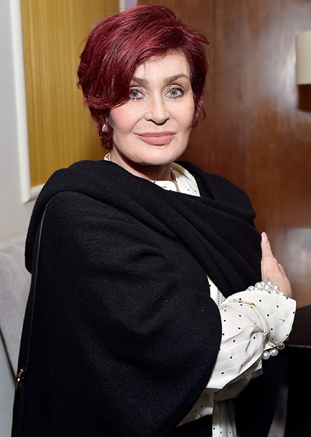 English television presenter and music promoter, Sharon Osbourne
