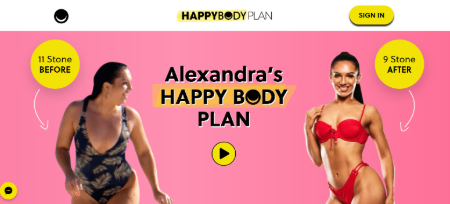Alexandra's Happy Body Plan