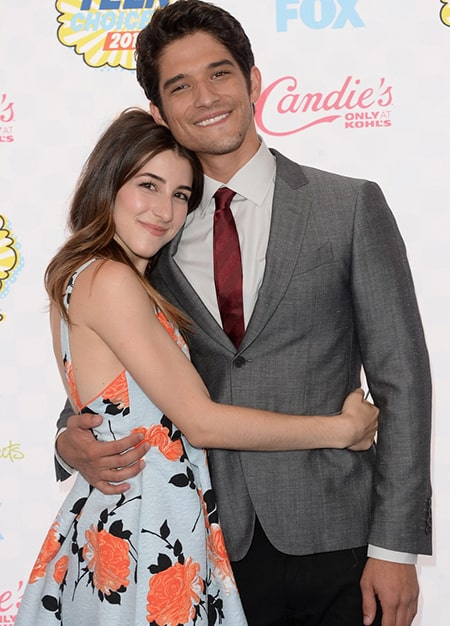 Actor Tyler Posey and his former fiancee Seana Gorlick