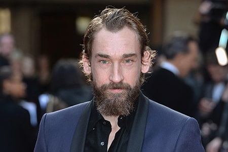 British television and film actor, Joseph Mawle