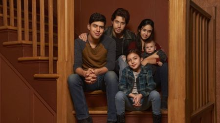The five Acosta siblings of Party of Five