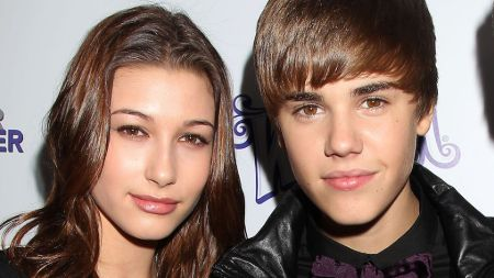 Justin Bieber and Hailey Baldwin around the time they first met