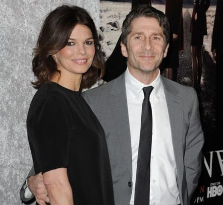Leland Orser with wife, August Tripplehorn Orser
