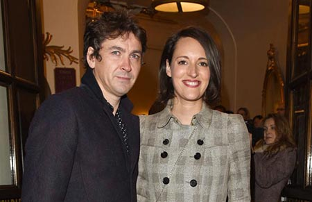 Actress and writer Phoebe Waller-Bridge and her ex-husband Conor Woodman