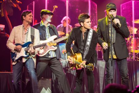 John Stamos performing with The Beach Boys
