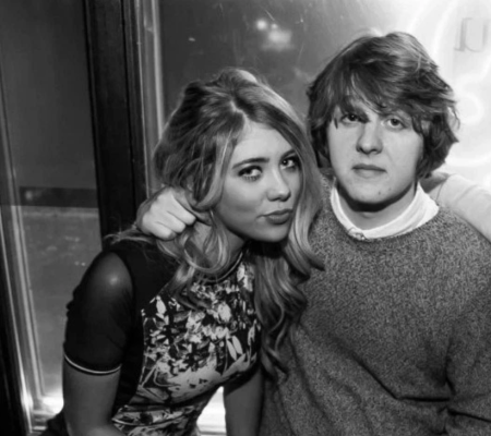 Paige Turley and Lewis Capaldi