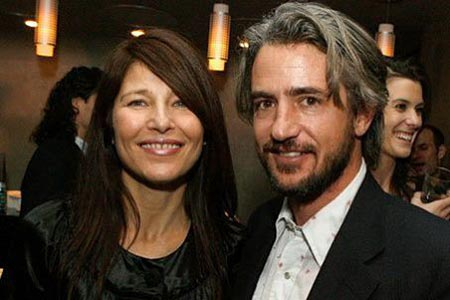 Actress Catherine Keener and her ex-husband Dermot Mulroney