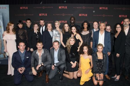 The ensemble cast of Altered Carbon