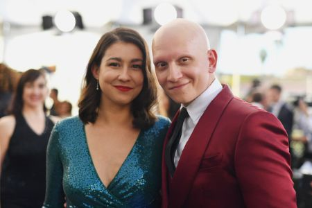 Anthony Carrigan and  Gia Olimp